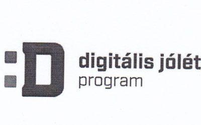 Digitális jólét fórum meghívója