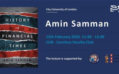 History in Financial Times Amin Samman
